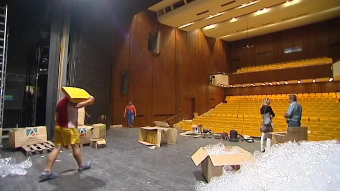 Rekonstrukce Beskydského divadla v Novém Jičíně