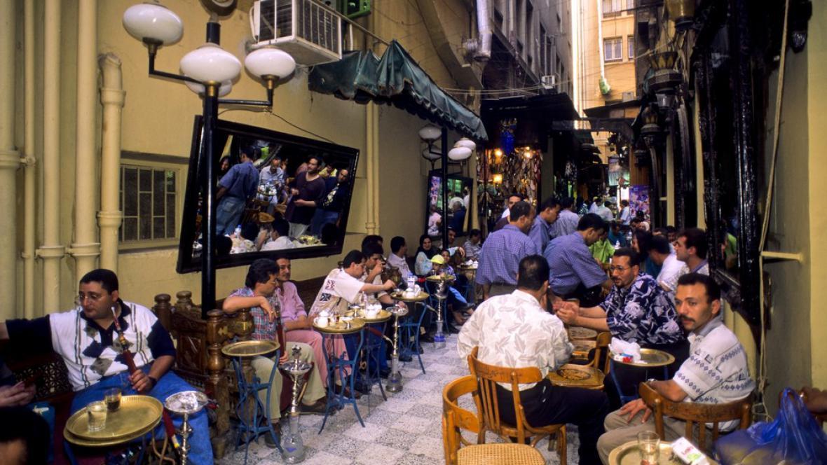 Turisté v Egyptě