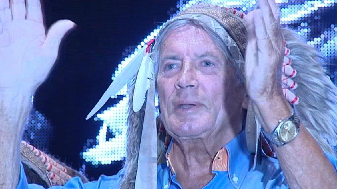 Pierre Brice na trutnovském festivalu