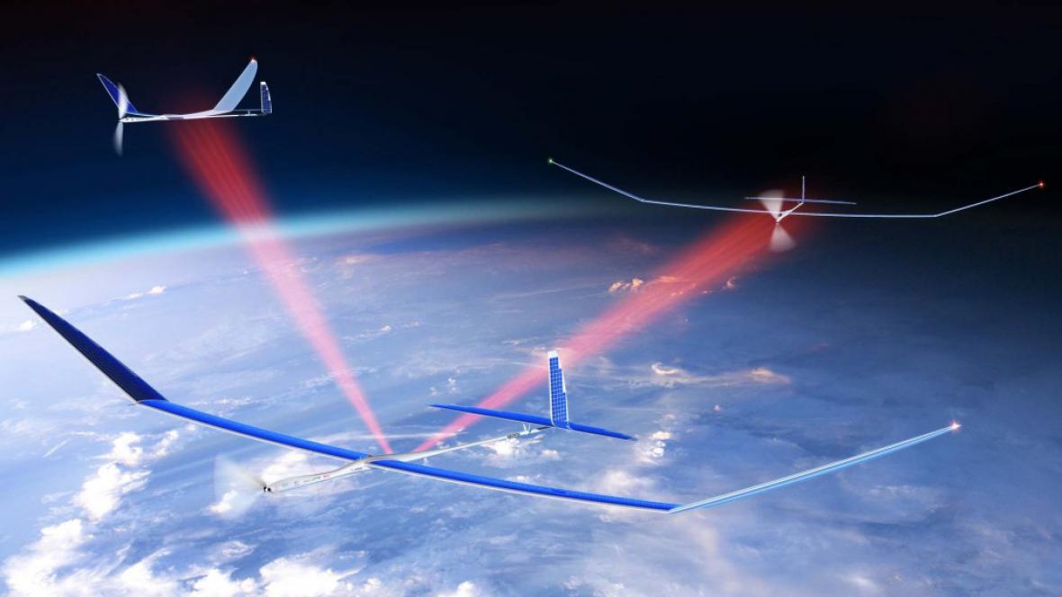 Bezpilotní letouny Titan Aerospace Solara