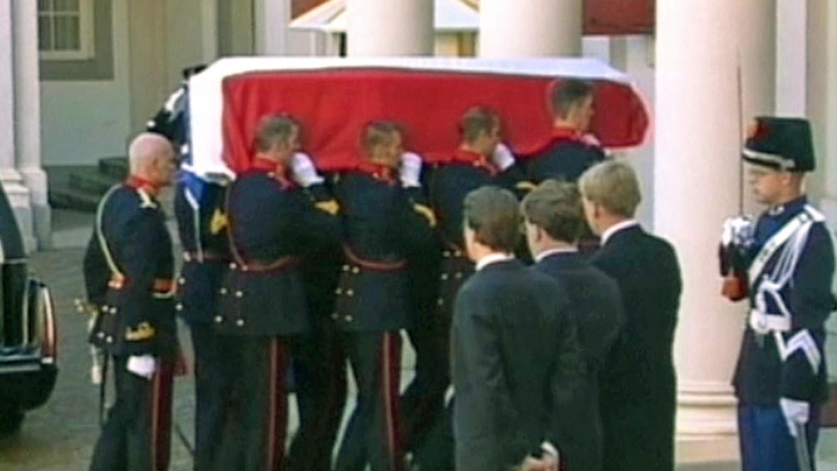 Pohřeb nizozemského prince Frisa