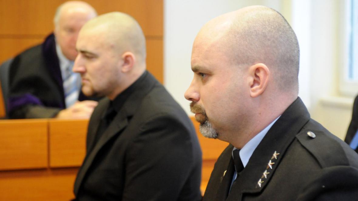 Pavel Řehoř (vpravo) a Patrik Trojan