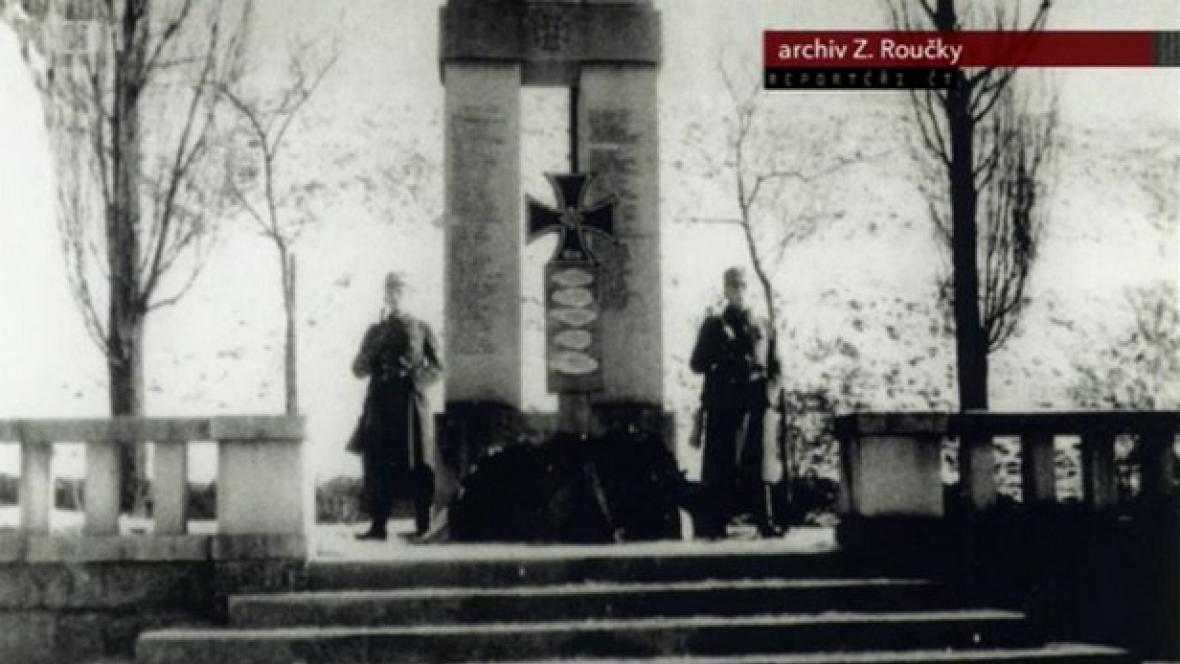 Pomník v Železné Rudě