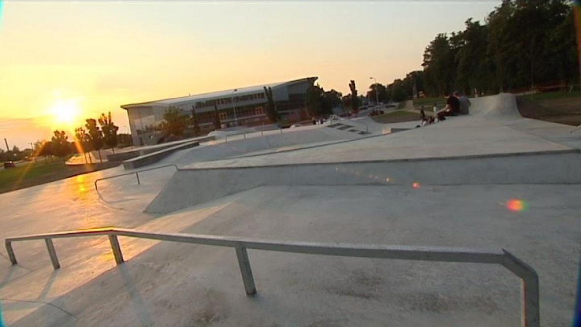 Skatepark v Opavě