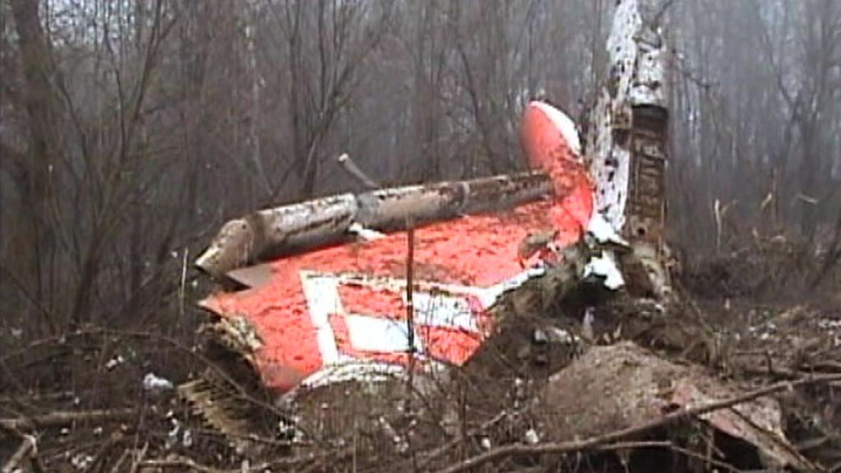 Tragédie polského letadla u Smolensku