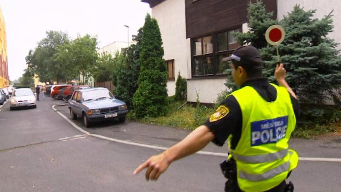 Akce litvínovské policie