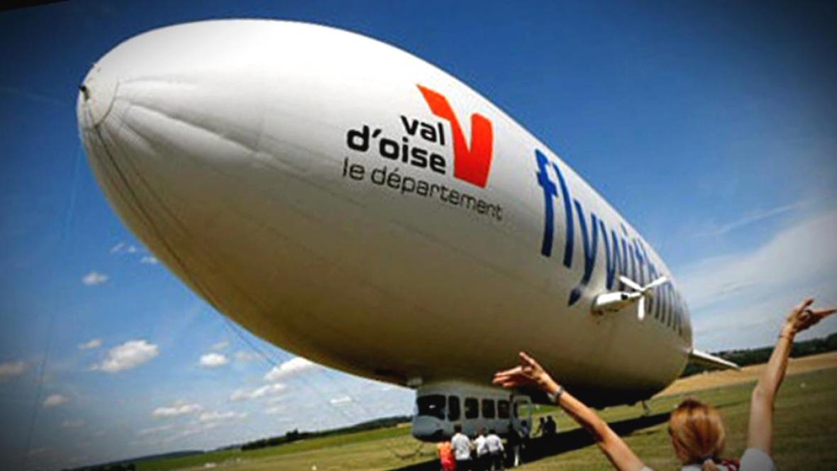 Francouzská firma nabízí turistům lety vzducholodí