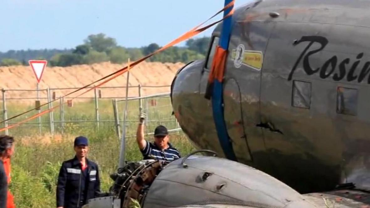 Záchrana rozinkového bombardéru