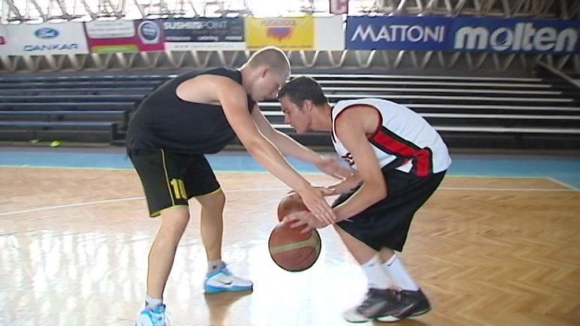 Foto z basketbalového kempu