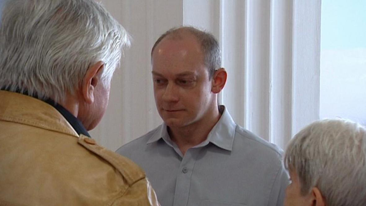 Jaromír Šebesta u soudu