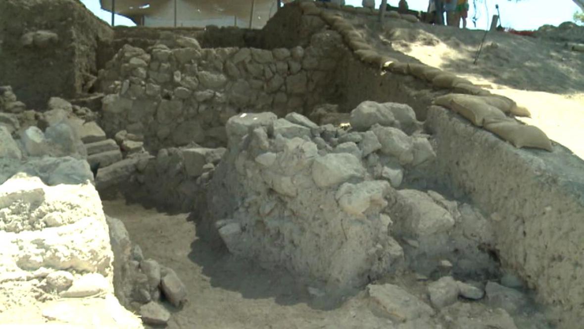 Archeologické vykopávky města Azeka