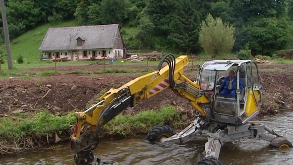 Oprava po povodních