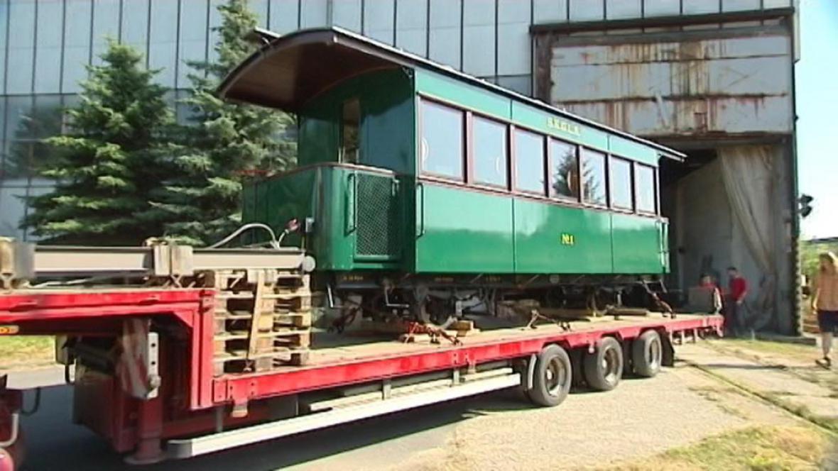 Restaurovaný vagón