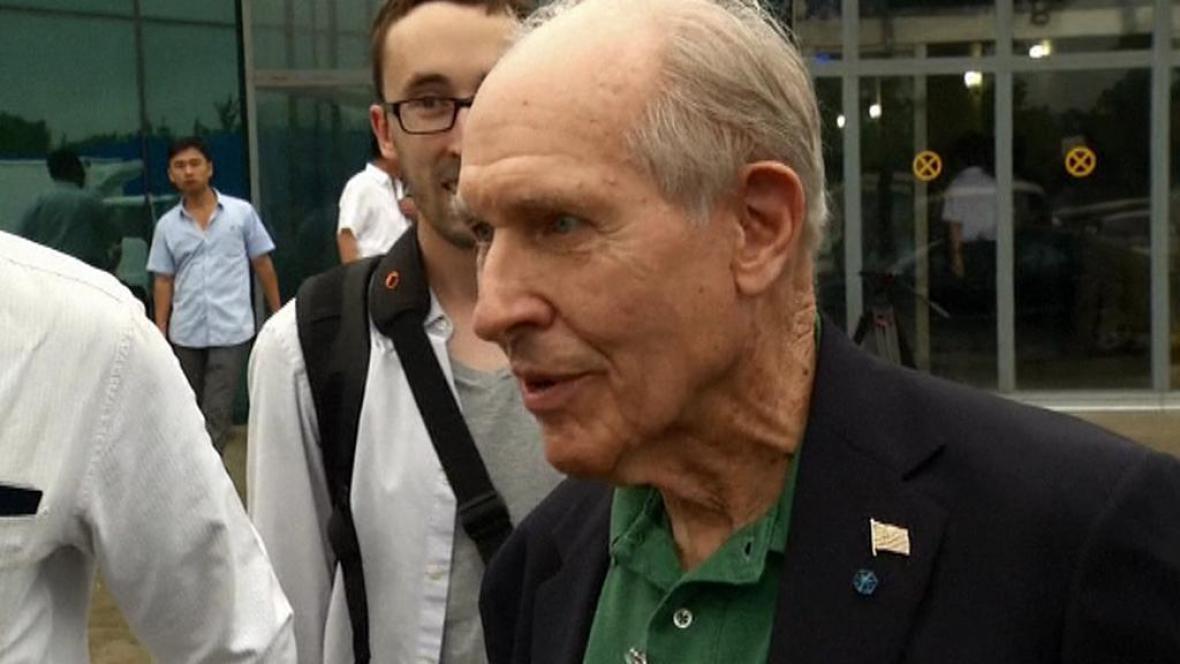 Americký válečný veterán Thomas Hudner