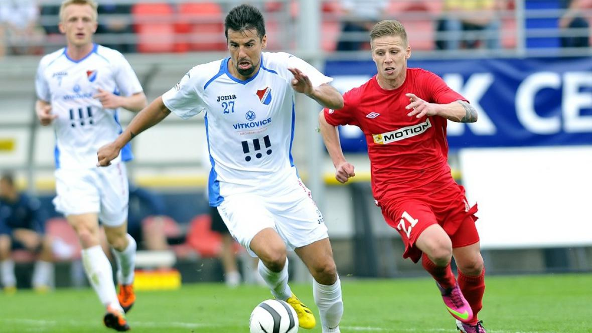 Milan Baroš v utkání Brno - Ostrava