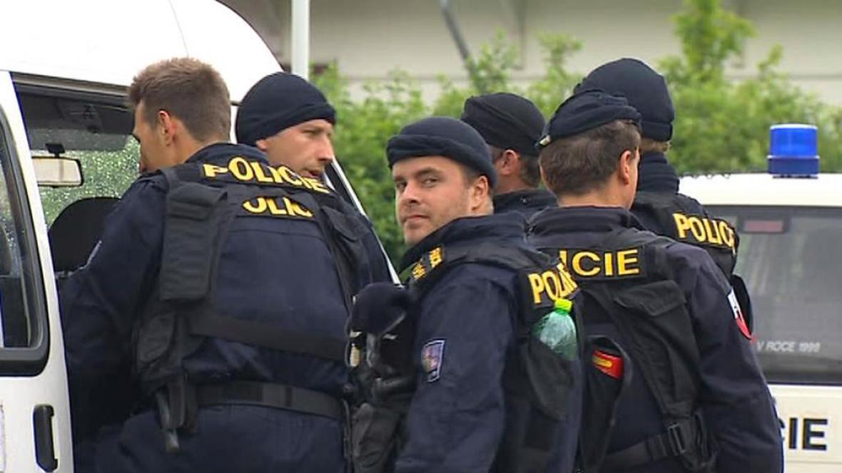 Policisté v Českých Budějovicích