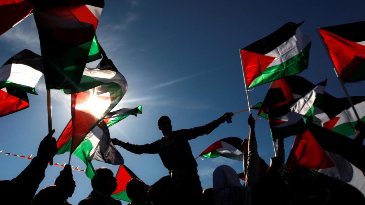 Palestinci vítají Mahmúda Abbáse