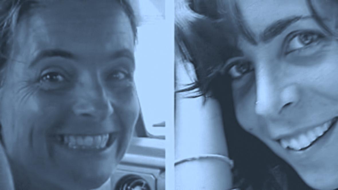 Montserrat Serraová a Blanca Thiebautová