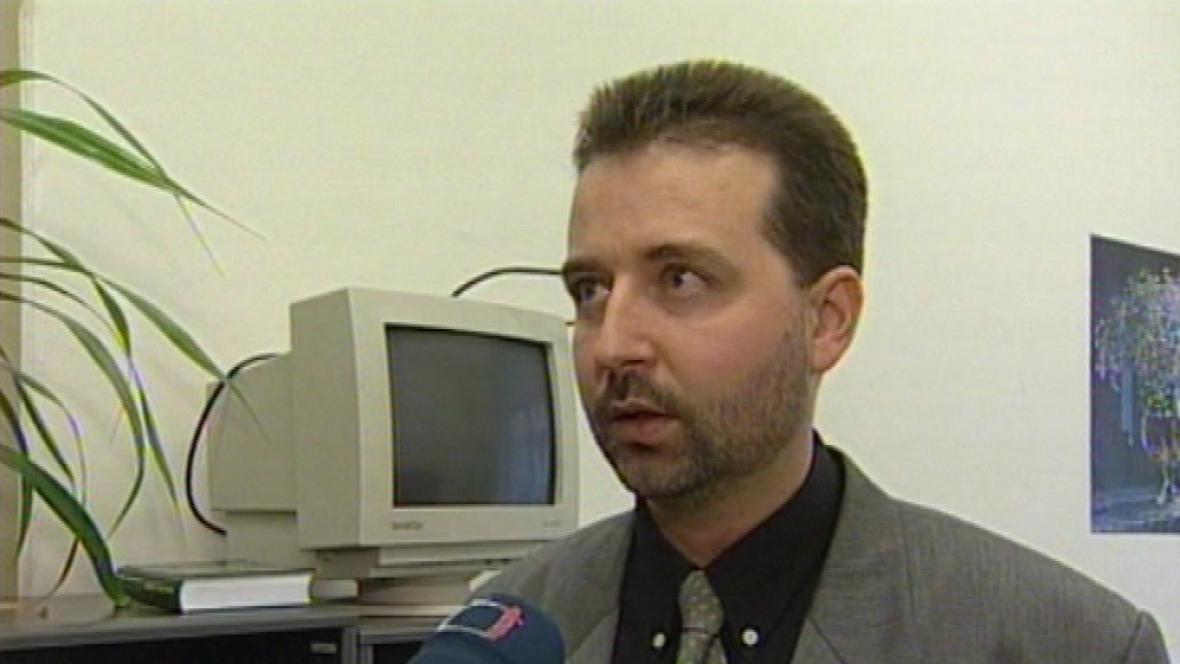 Soudce Jiří Pešek (archivní záběr)