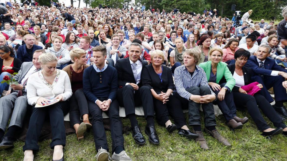 Pietní akce v Norsku