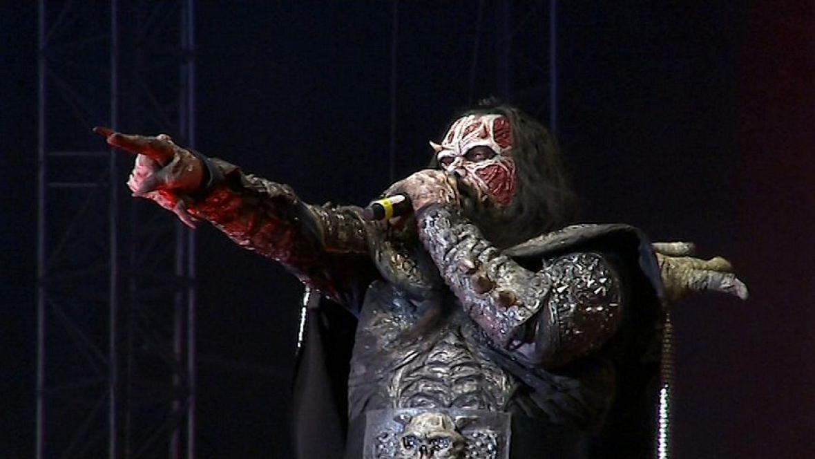Finská kapela Lordi na Masters of Rock ve Vizovicích