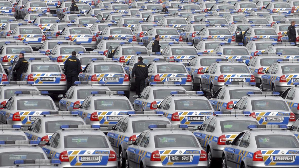 Policejní vozy