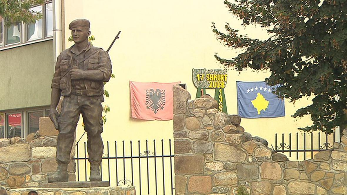 Pomník války o Kosovo