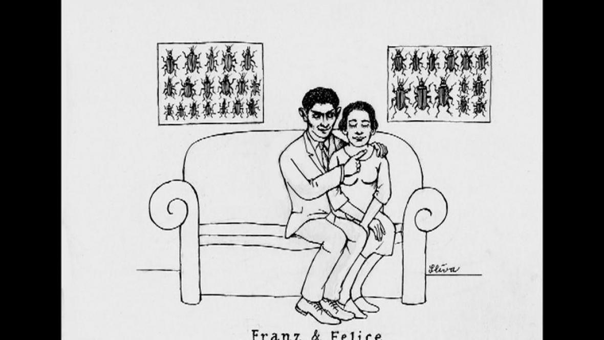 Franz Kafka Proměna / ilustrace Jiřího Slívy
