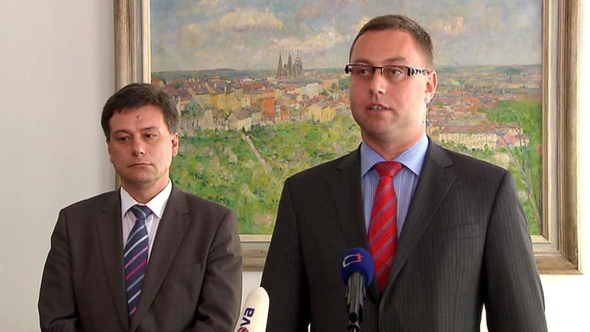 Pavel Blažek a Pavel Zeman