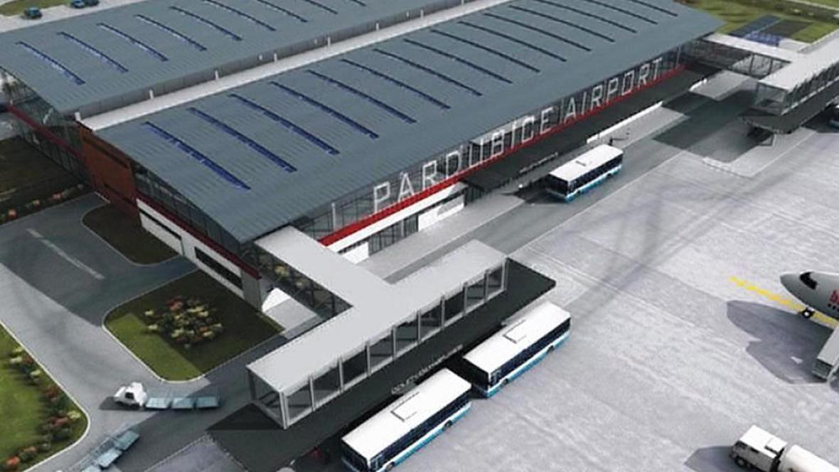 Vizualizace plánovaného terminálu
