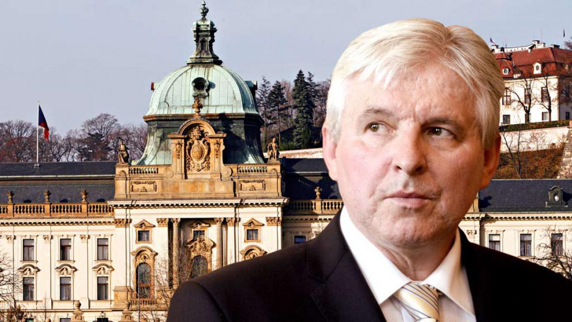 Designovaný premiér Jiří Rusnok