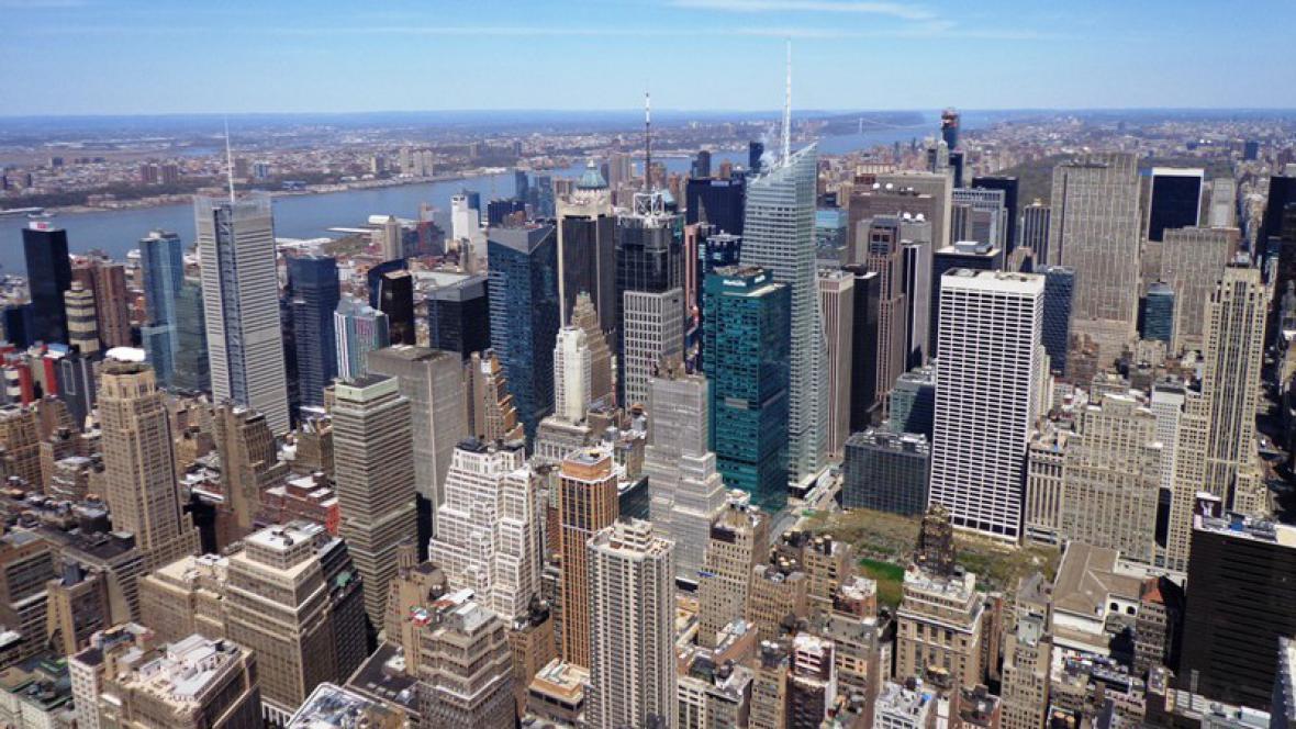 Výhled z Empire State Building