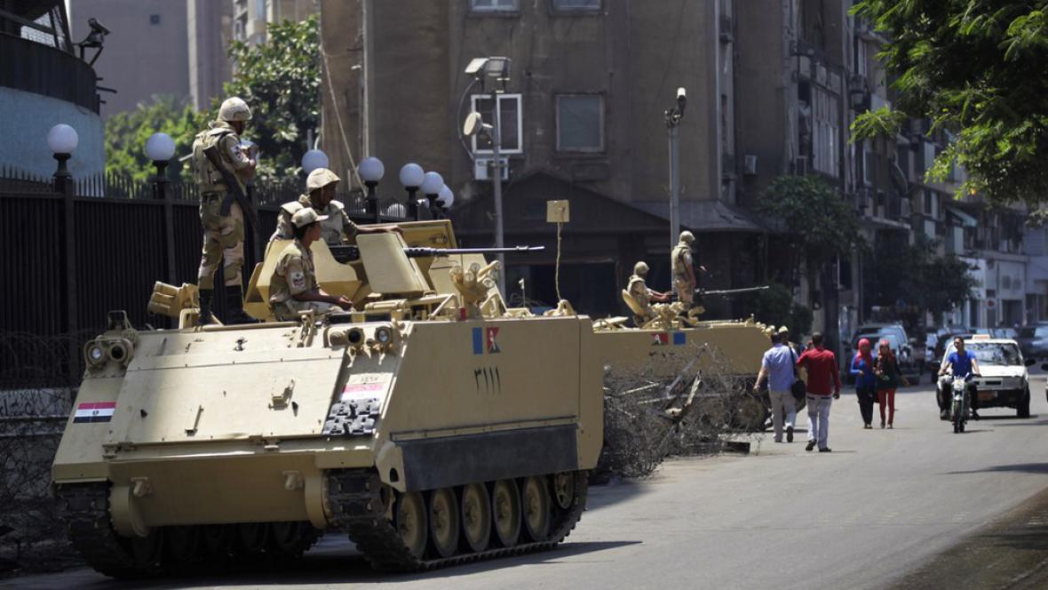 Tanky v Egyptě