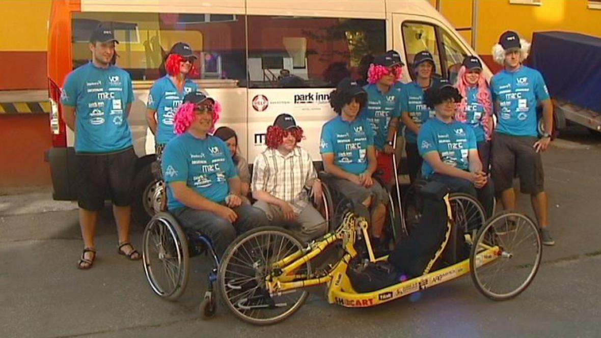 Handicapovaní sportovci vyrazili napříč Evropou