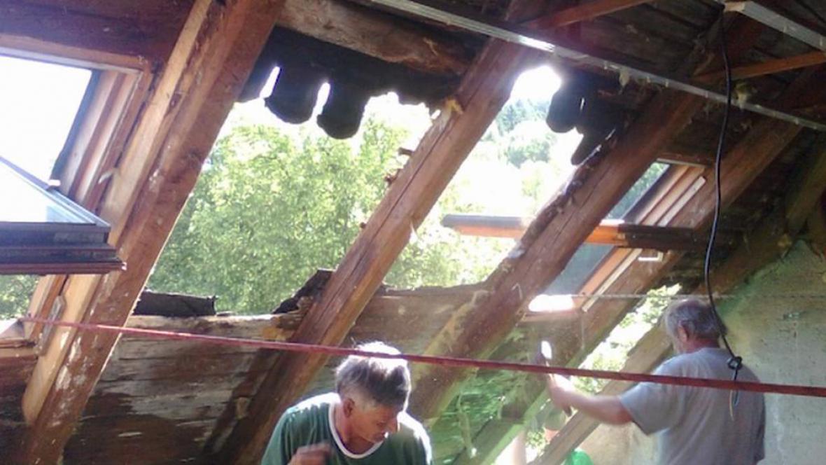 Děravá střecha