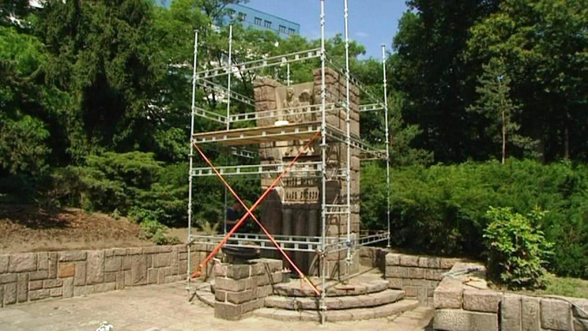 Pardubický památník obětem heydrichiády