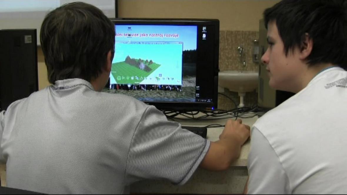 Program iTEC na škole v Borohrádku