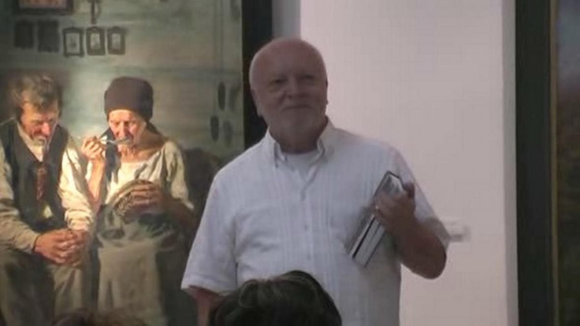 Spisovatel Jan Krůta