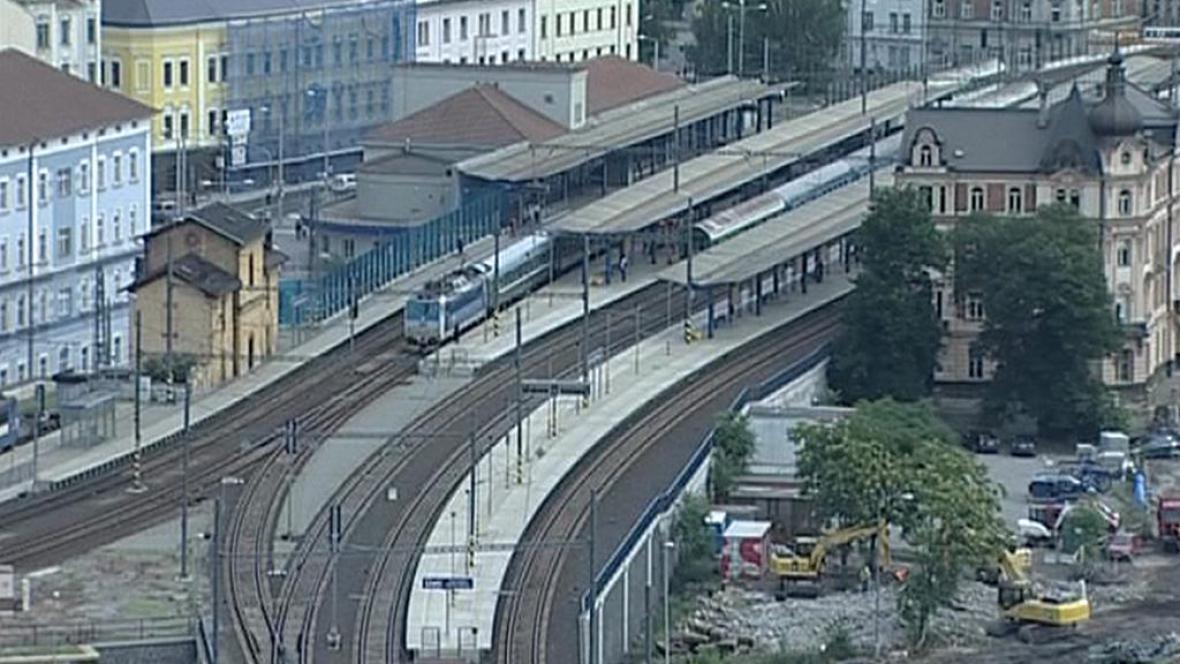 Ústí nad Labem - hlavní nádraží