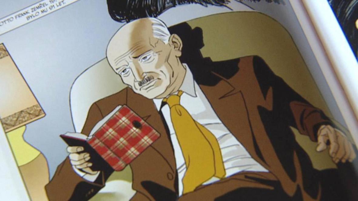 Deník Anny Frankové / komiksové vydání