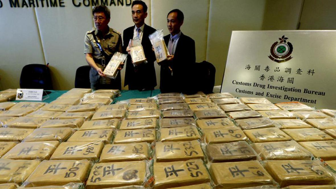 Drogy v Číně