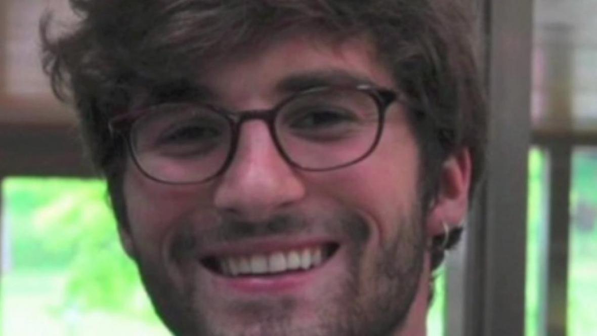 Americký student Andrew Pochter