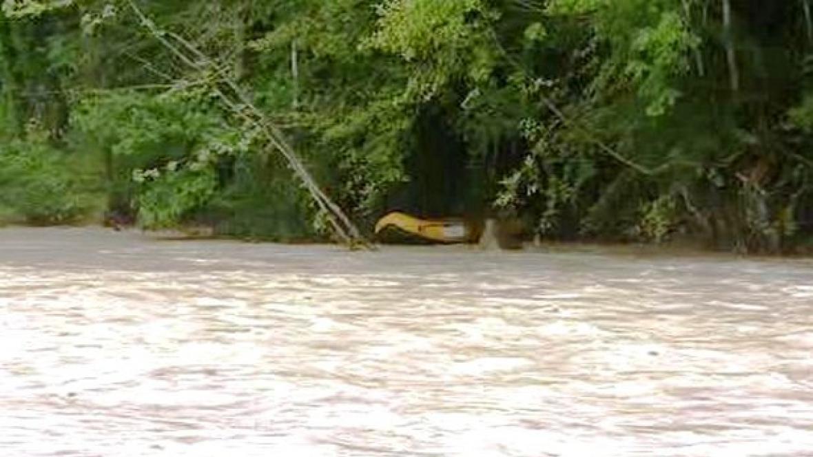 Opuštěný raft