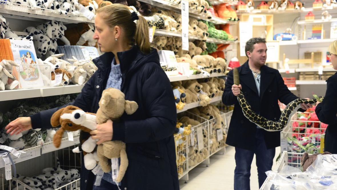 Nakupování o Vánocích