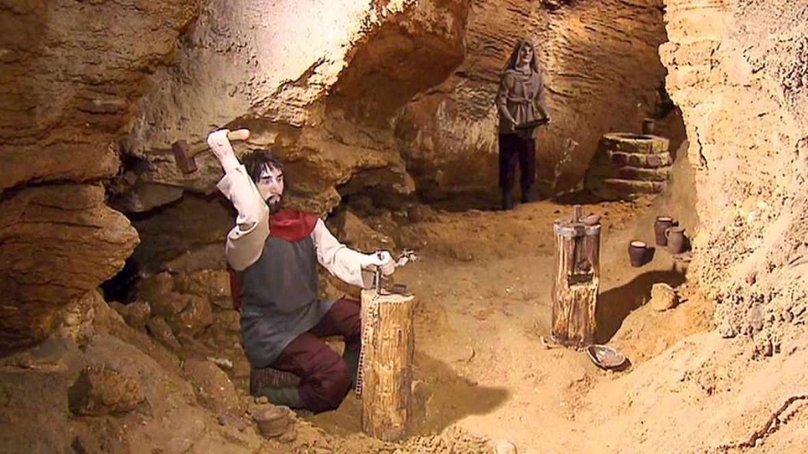 Expozice v Koněpruských jeskyních