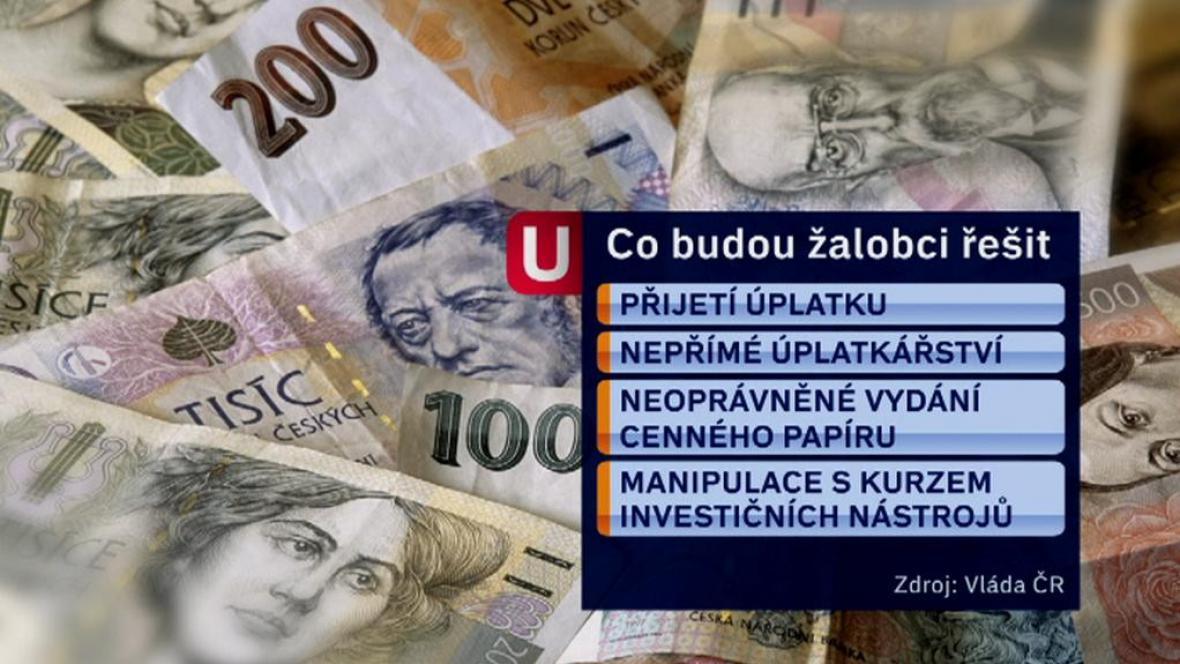 Co bude řešit úvar pro vyšetřování korupce