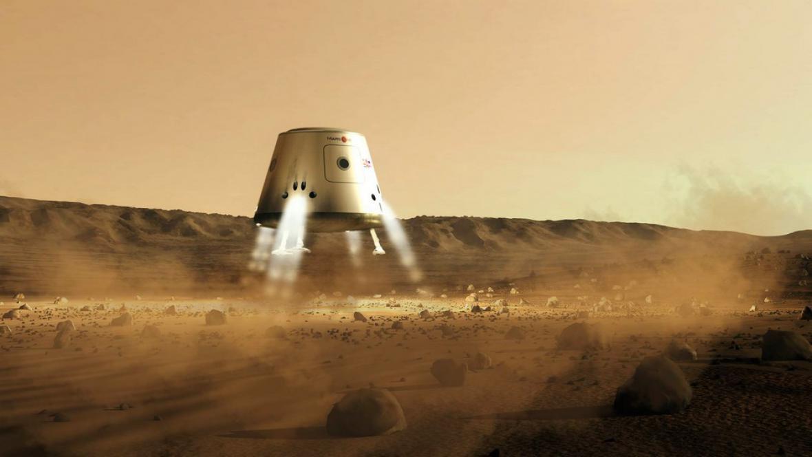 Přistání na Marsu
