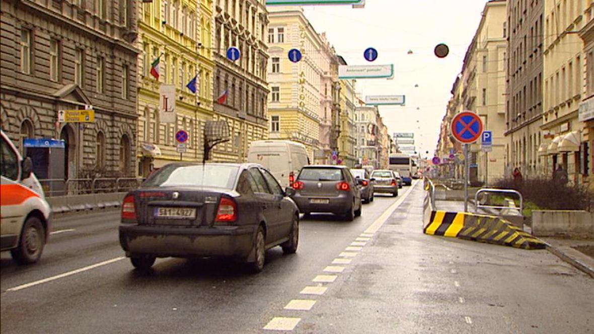 Provoz na pražské magistrále