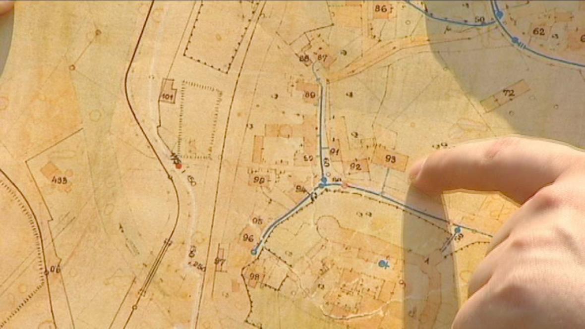 Historická katastrální mapa