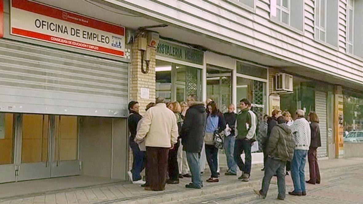 Nezaměstnaní Španělé